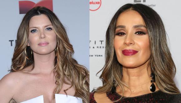Maritza Rodríguez o mejor conocida como Sarah Mintz contó a través de sus redes sociales como es que se dio la 'rivalidad' con su compatriota Catherine Siachoque (Foto: Telemundo)