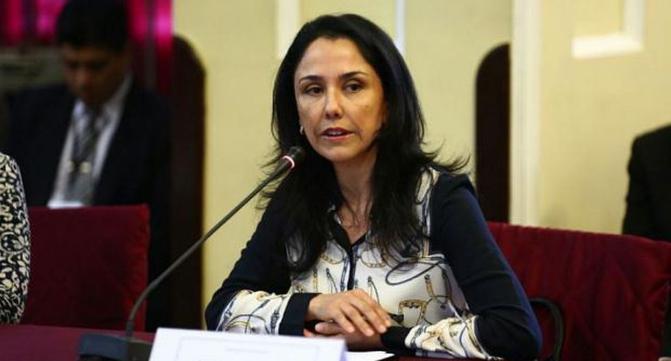 La ex primera dama Nadine Heredia. (Foto: GEC)