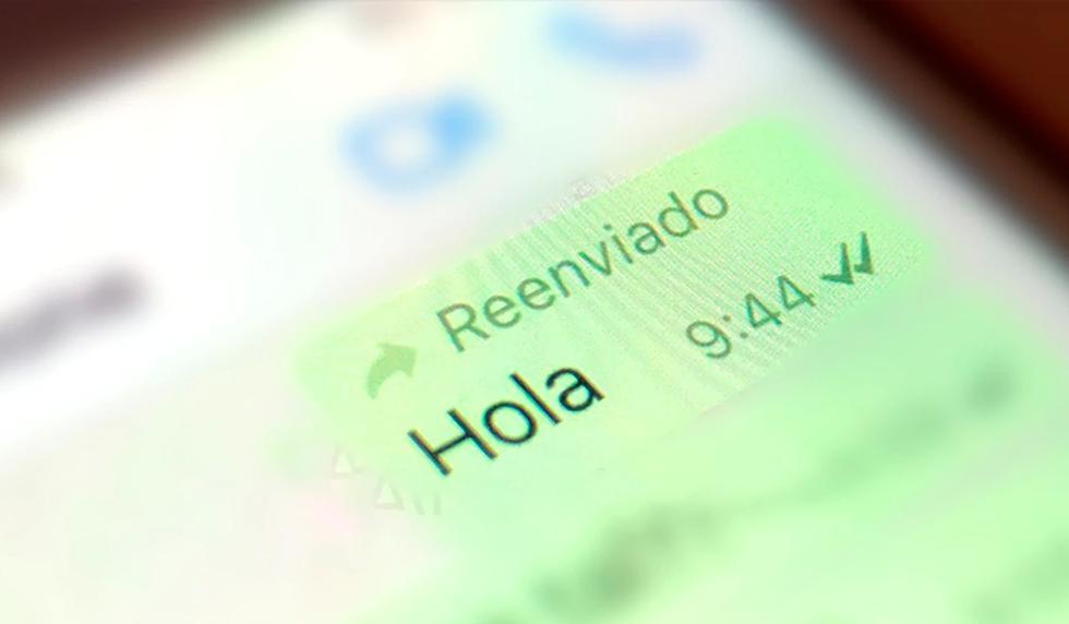 FOTO 1 DE 3   ¿Quieres que nunca más aparezca 'reenviado' en tus conversaciones de WhatsApp? Usa este método   Foto: WhatsApp (Desliza a la izquierda para ver más fotos)