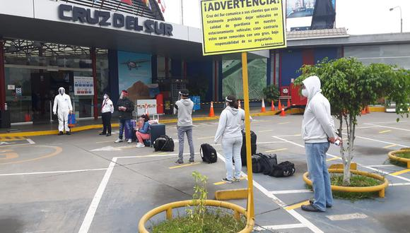Representante de Cruz del Sur expresó que hay una retracción de la demanda de viajes en buses interprovinciales.