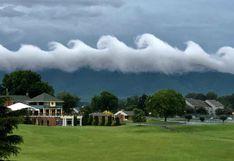 Las nubes con insólita forma que dejaron atónitos a los residentes de una ciudad de EEUU