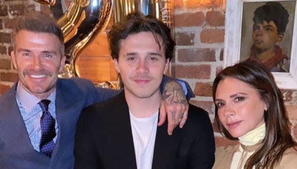 Los esposos David y Victoria Beckham están emocionados con el próximo matrimonio de Brooklyn Beckham, su hijo de 21 años. (Foto: Instagram)