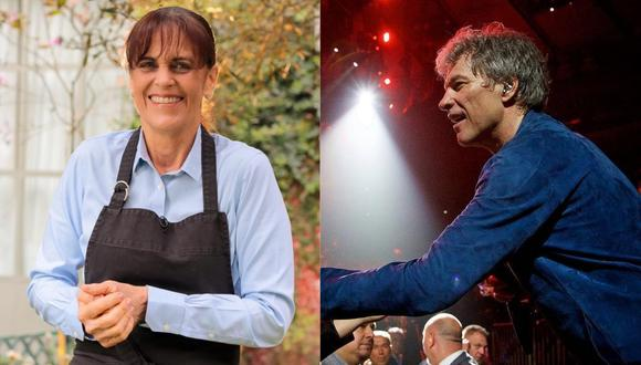 Sandra Plevisani sorprende al mostrar foto de su encuentro con Bon Jovi  (Foto: Instagram)