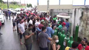 Países de Latinoamérica batallan con la pandemia