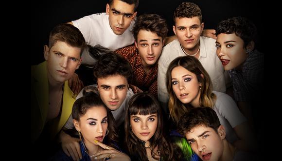 """Elenco de la cuarta temporada de """"Élite"""". (Fuente: Netflix)"""