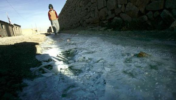 Hasta 10 grados bajo cero llegaría temperatura en la sierra sur