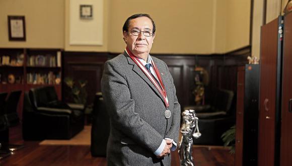 Prado Saldarriaga emitió un mensaje por el Día del Juez. (Foto: Alonso Chero / El Comercio)