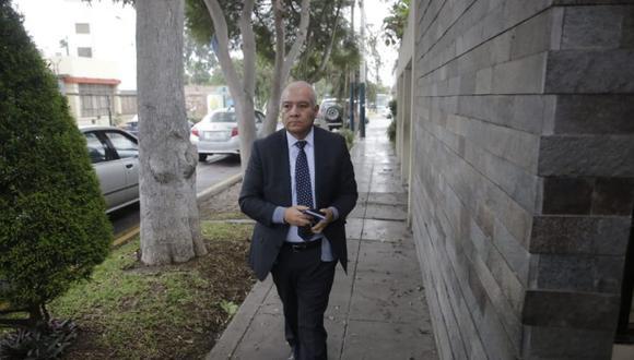 Abogado Wilfredo Pedraza cuestiona diligencia de allanamiento a la casa de Nadine Heredia (Foto: Alonso Chero)