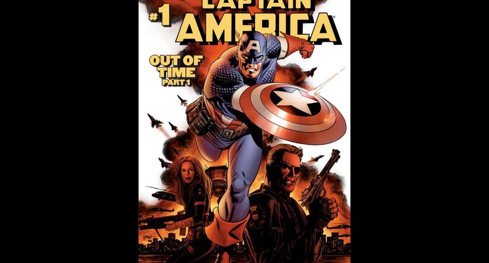"""""""Captain America: Winter Soldier Ultimate"""" (2010) - La inesperada muerte del mayor de sus enemigos sorprende a Steve Rogers, más conocido como el Capitán América. Sin embargo, el héroe no puede descansar en sus laureles, ya que uno de los proyectos de sus némesis ha desaparecido: un cubo cósmico con la capacidad de alterar el universo. (Fuente: Marvel)"""