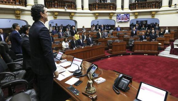 El Congreso termina su actual legislatura este 15 de diciembre. Esta semana es de representación parlamentaria. (Foto: Congreso)