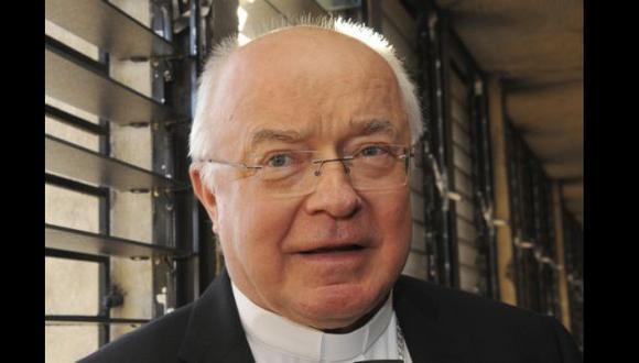 El ex representante del Papa procesado por abusos sexuales