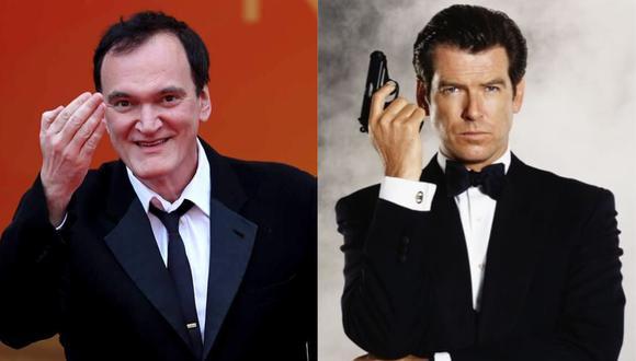"""Quentin Tarantino quiso dirigir una película de """"James Bond"""" con Pierce Brosnan como protagonista. (Foto: AFP/Captura)"""