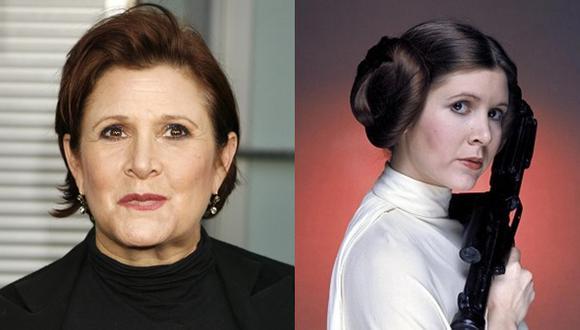 Carrie Fisher, princesa Leia en Star Wars, sufre paro cardíaco