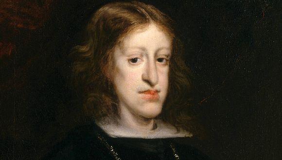 Retrato de Carlos II, pintado hacia 1680 por Juan Carreño de Miranda. (Foto: Museo del Prado)