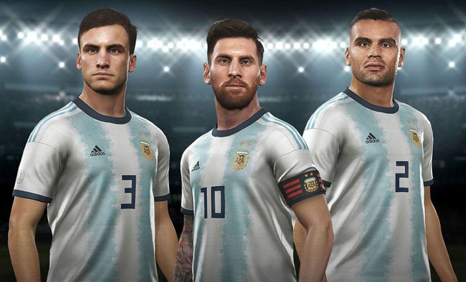 De la mano de Lionel Messi, Argentina irá por el triunfo ante el local Brasil. (Foto: Konami)