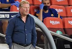"""""""Me dijo cosas muy feas"""": Koeman denunció ataques de Nyom, tras el Barcelona-Getafe"""