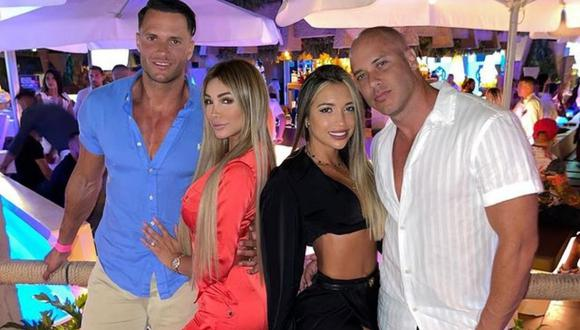 "Bruno Agostini felicitó a Fabio Agostini y Paula Manzanal por ""agrandar la familia"". (Foto: Instagram @brunoagoatinifit)."