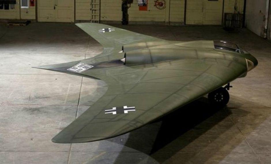 El increíble avión futurista diseñado por los nazis
