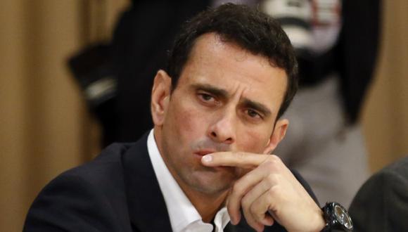 Henrique Capriles: No queremos golpe ni estallido social