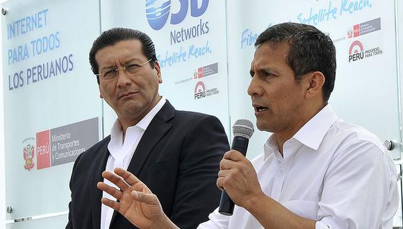 """El ex presidente Ollanta Humala """"lamentó"""" que se haya implicado al ex ministro de su gestión, Carlos Paredes, con el """"club de la construcción"""". (Foto: GEC)"""