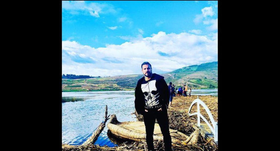 Juan Pablo Vergara en otro de sus últimos viajes.