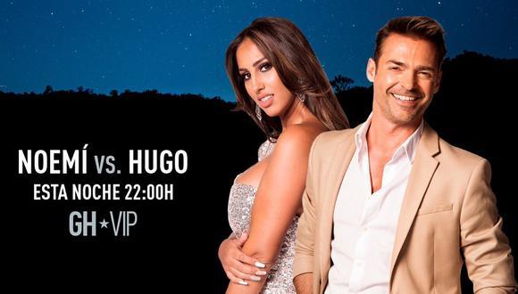 GH VIP 7 EN DIRECTO ONLINE EXPULSIÓN: Noemí o Hugo, ¿quién será el segundo expulsado de Gran Hermano VIP 7?   Gala 4 EN VIVO ONLINE (Foto: Telecinco)