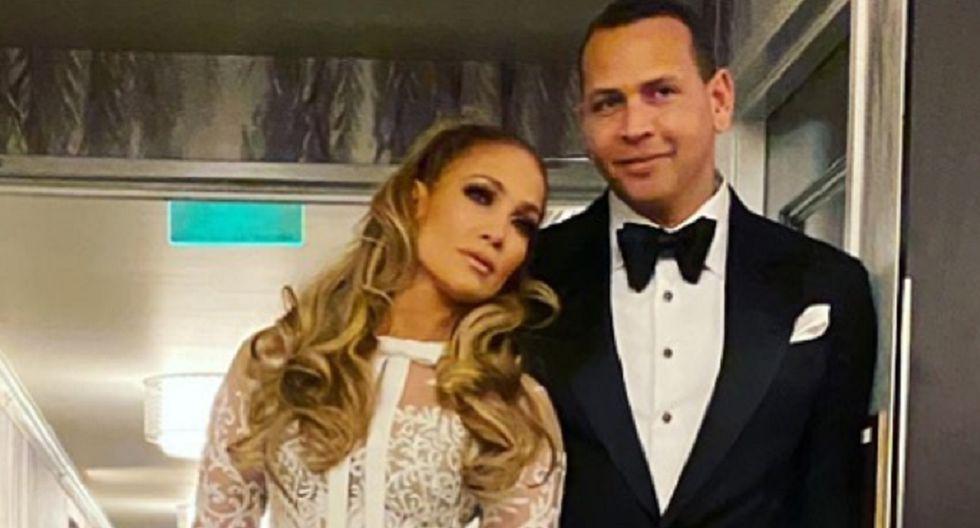 Jennifer López y Alex Rodríguez son una de las parejas más famosas de Hollywood (Foto: JLo /Instagram)