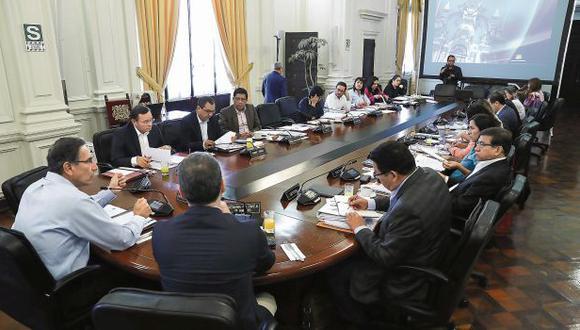 Hoy el Consejo de Ministros sesionará desde las 7 de la mañana, antes de presentar el proyecto de reforma constitucional. (Foto:Presidencia/Archivo)