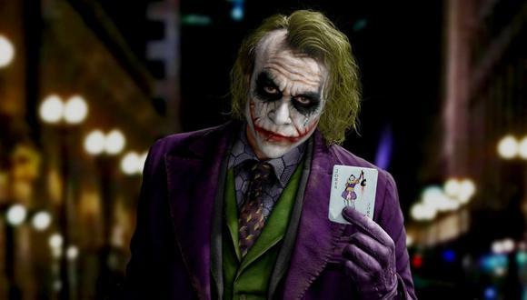 """Heath Ledger se convirtió en uno de los actores más aclamados por su actuación como el """"Jocker"""" (Foto: (Foto: Joker / Warner Bros.)"""