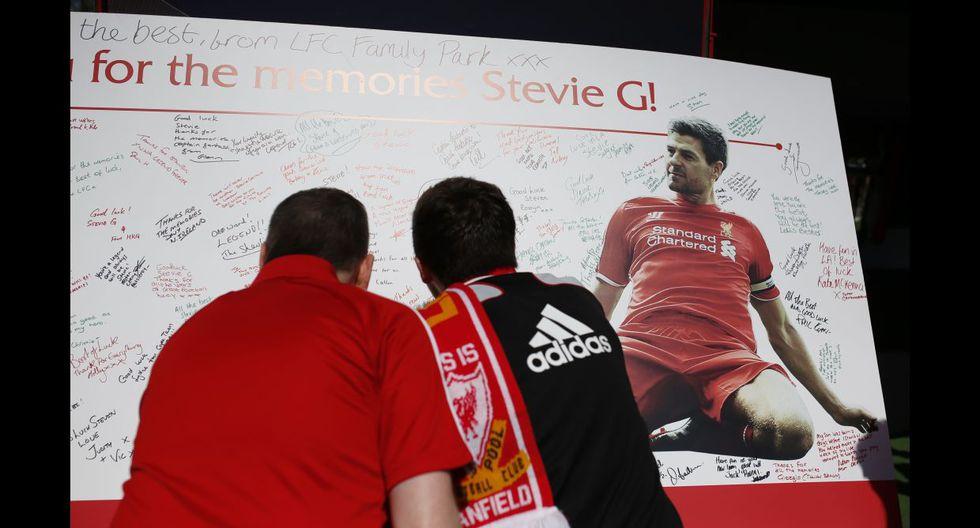 Steven Gerrard y su emotiva despedida del Anfield Road (FOTOS) - 10