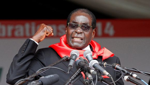 Robert Mugabe lleva 37 años en el poder en Zimbabue. (Reuters).