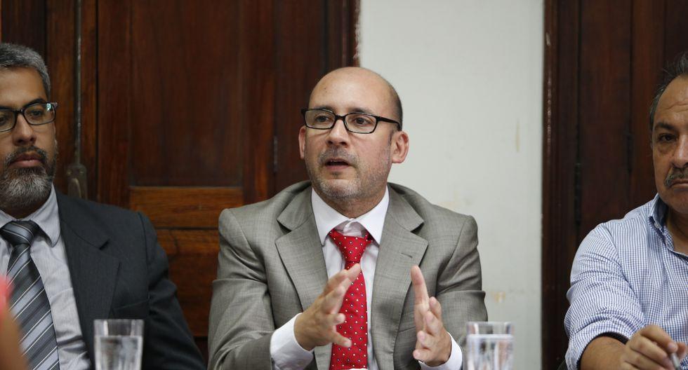 Christian Sánchez, ministro de Trabajo. (Foto: USI)