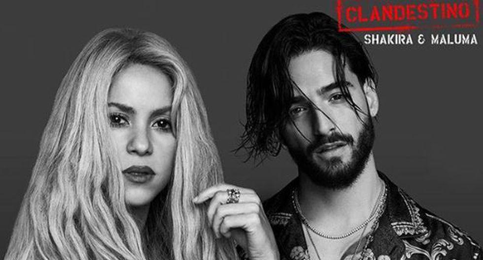 """Shakira y Maluma vuelven a unir sus voces para dar vida a """"Clandestino"""". (Foto: Instagram)"""