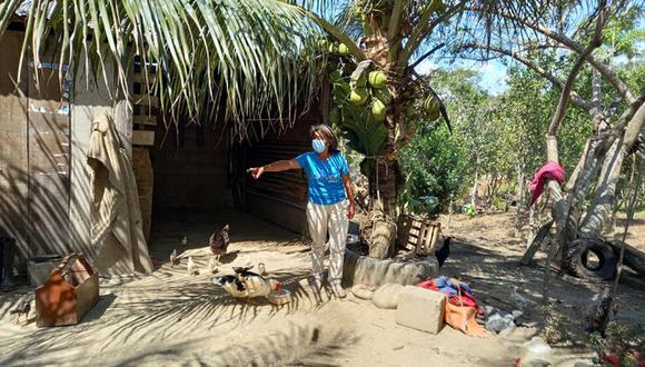 Una de las viviendas a las que ingresó el jaguar fue la de Pedro Gonzáles, en la comunidad de Santa Teresa. (Foto: Manuel Calloquispe)