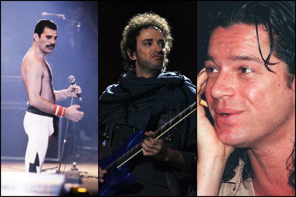 Freddy Mercury de Queen, Gustavo Cerati de Soda Stereo y Michael Hutchence de INXS. (Foto: Agencias)