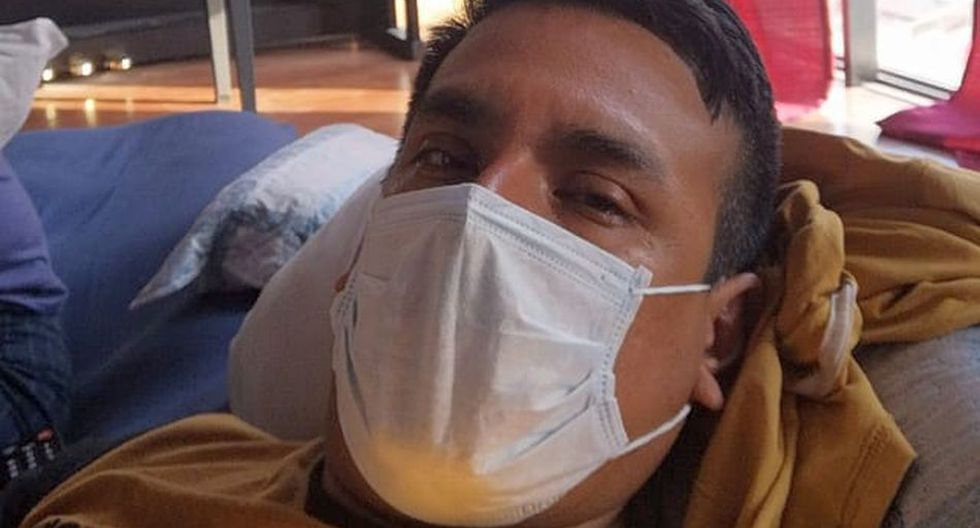 Autor de la nota espera la llamada del Minsa para poder retirarse la máscara o dejárselo 14 días más.