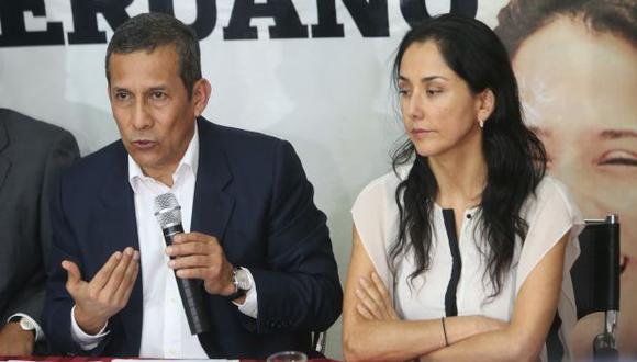 Ollanta Humala y Nadine Heredia cumplen una orden de prisión preventiva en el marco de un proceso por presunto lavado de activos. (Foto: Archivo El Comercio)