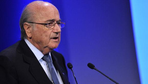 Joseph Blatter piensa cambiar regla sobre gol de visitante