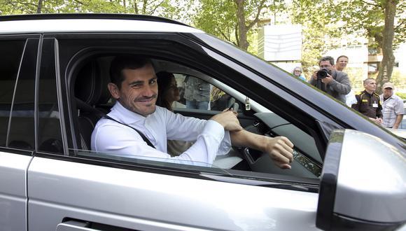 El portero del Porto de Portugal se caracteriza por tener vehículos todoterreno. (Foto: AP)