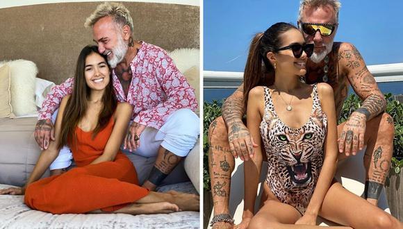 El empresario Gianluca Vacchi y ,a modelo Sharon Fonseca están esperando a su primer bebé. (@gianlucavacchi).