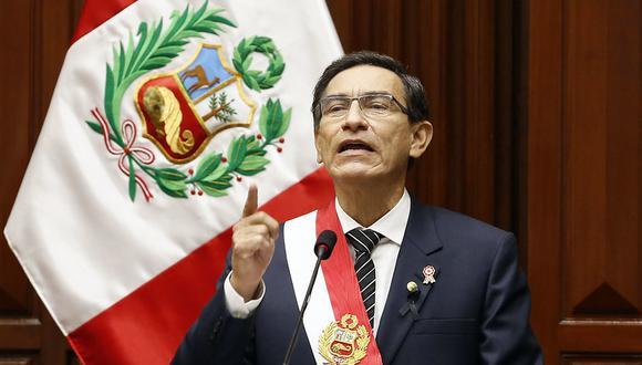 """""""El Perú debe salir de esta pandemia (del coronavirus) con un nuevo y sólido sistema de salud"""", dijo Vizcarra. (Foto: Presidencia)"""