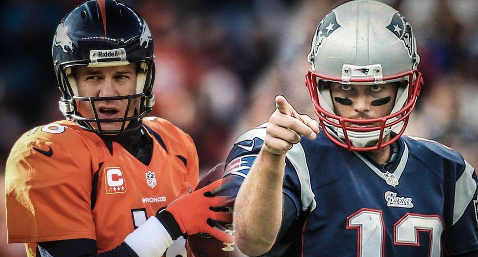 Tom Brady vs Peyton Manning: una rivalidad de leyenda. Toda la historia en esta nota (Foto: AFP)