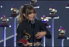 Premios Grammy Latinos: Kany García le dedicó premio a Gian Marco, con quien competía en misma categoría
