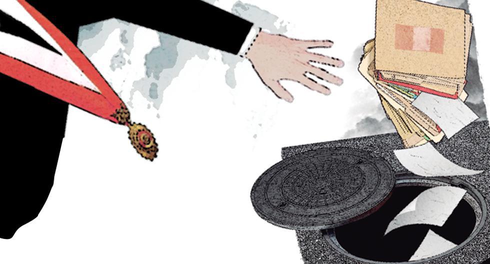 Pese a la presencia mayoritaria de abogados, en el anterior Congreso no hubo suficiente filtro analítico de propuestas de ley, pues varias, convertidas en normas, fueron objeto de demandas de inconstitucionalidad. (Ilustración: Rolando Pinillos / El Comercio).