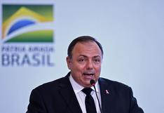 Internan al ministro de Salud de Brasil, quien está enfermo de coronavirus