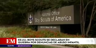 Boys Scouts de EE.UU. se declaran en quiebra ante demandas por abuso sexual