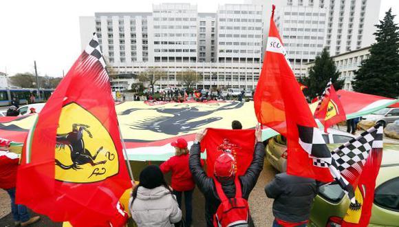 Último reporte de Schumacher: estable pero en estado crítico