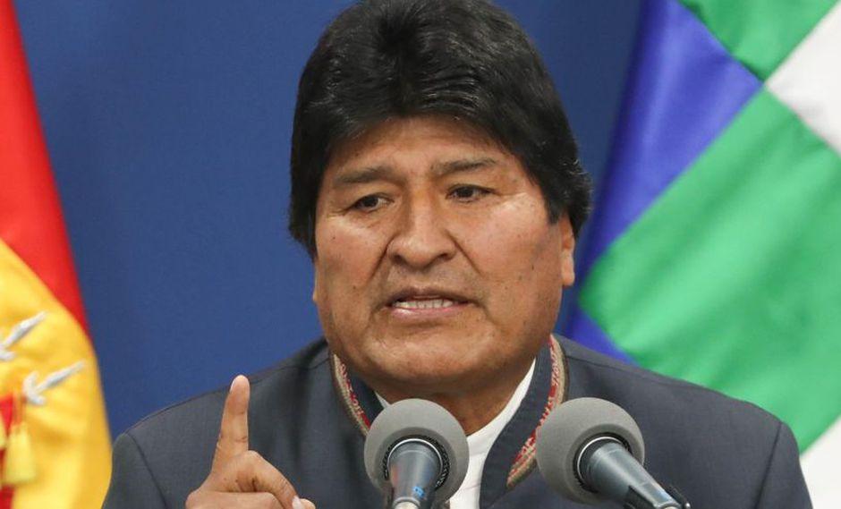 """Evo Morales, en el poder desde el 2006, viene denunciando desde hace días que la oposición de Bolivia intenta derrocarlo mediante un """"golpe de estado"""". (Foto: EFE)"""