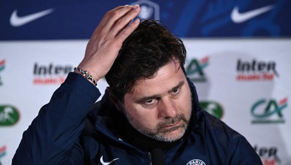 Mauricio Pochettino tiene confianza en ganar la Ligue 1 con PSG. (Foto: AFP)