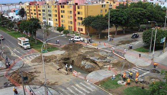 La ciudad de Trujillo tiene 44 zonas de riesgo por aniegos